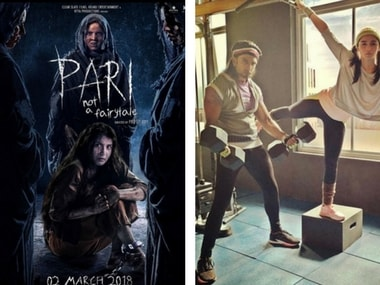 Chilling new poster of Pari released; Ranveer Singh, Alia Bhatt's workout session: Social Media Stalkers' Guide
