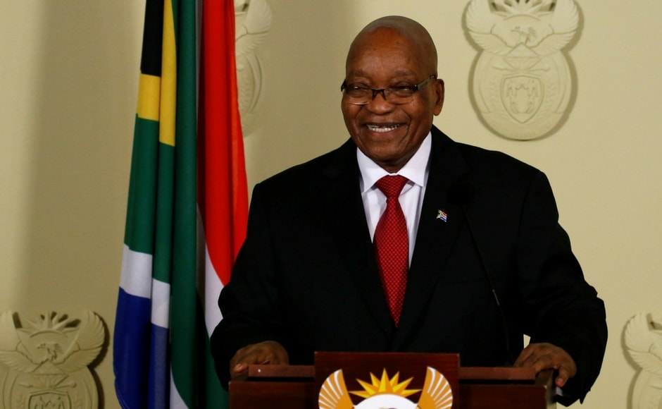Zuma has been in a power struggle with multi-millionaire former businessman Cyril Ramaphosa, the deputy president who now becomes interim president. Reuters