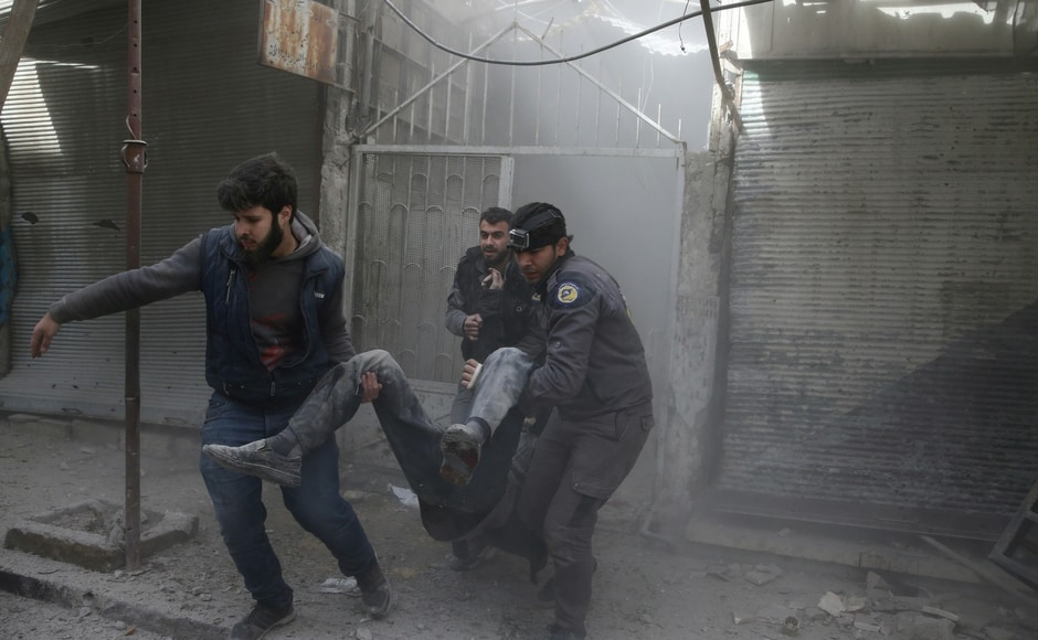 Eastern Ghouta and Idlib, a northern province where violence also flared this week, are both so-called de-escalation zones under a deal last year intended to pave the way towards an end to the conflict. Reuters