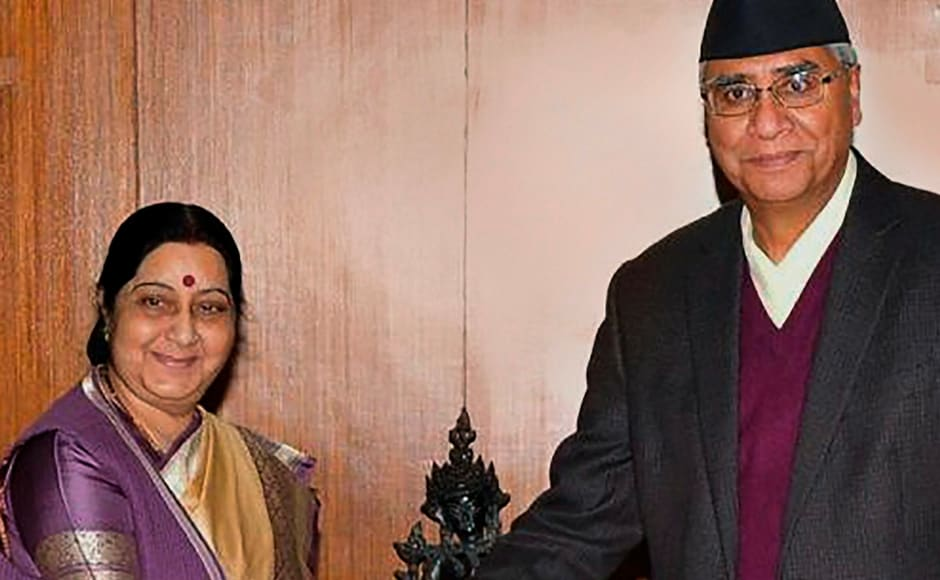 The MEA minister also called on outgoing prime minister Sher Bahadur Deuba at his residence on Friday. PTI