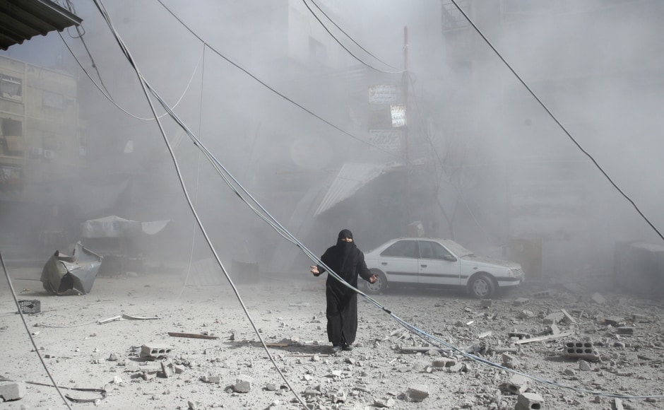 While the Syrian government maintains it only targets militants, the United Nations has called for an immediate humanitarian ceasefire in Syria for at least a month. Reuters
