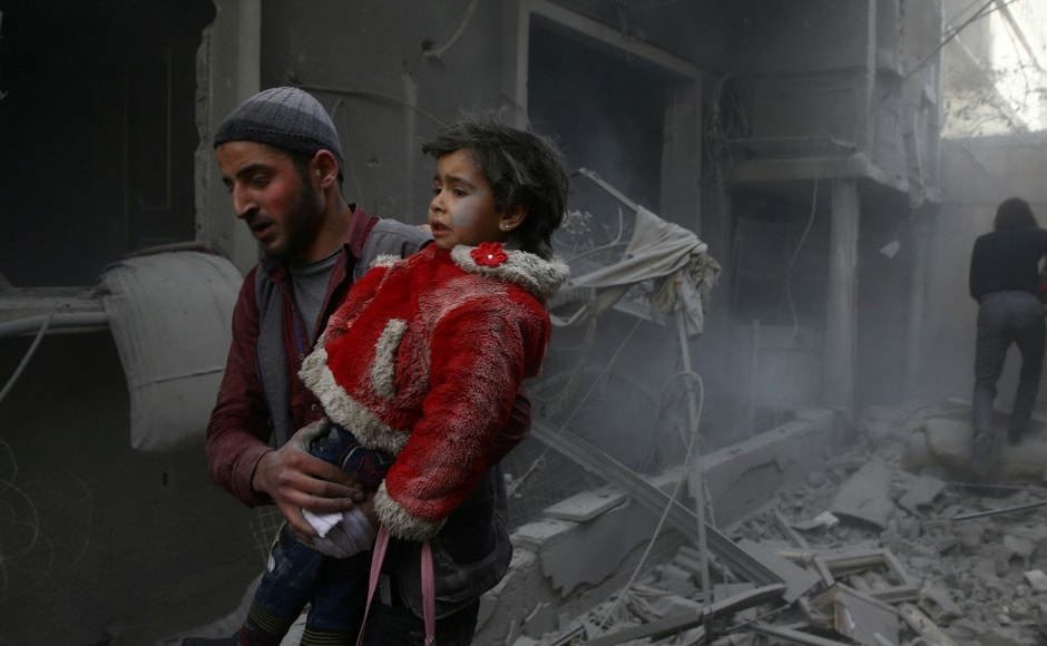 The army and its allies have besieged Eastern Ghouta, a pocket of satellite towns and farms under the control of rebel factions, since 2013. Reuters