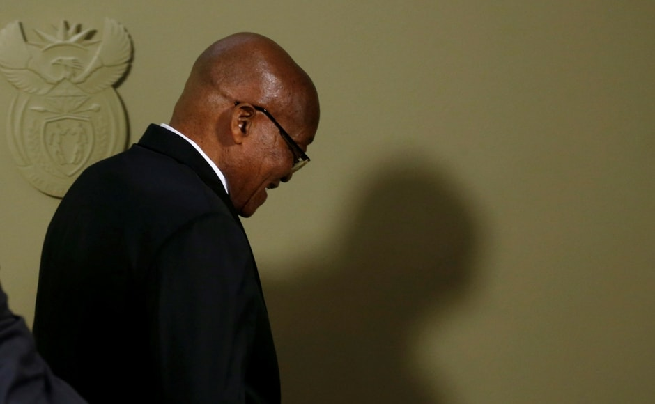 In an earlier TV interview, Zuma said he received very unfair treatment from the party he joined in 1959 and in which he had fought for decades against apartheid white-minority rule. Reuters