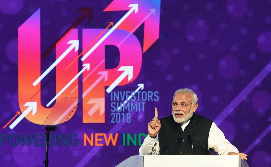 UP Investors Summit 2018: Modi Announces Rs 20000 crore Defence Corridor