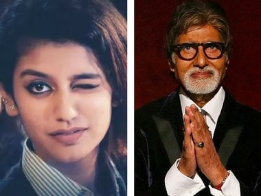 Priya Prakash Varrier finds a fan in Rishi Kapoor; Amitabh Bachchan's Twitter job application: Social Media Stalkers' Guide