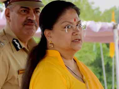 Rajasthan budget: Ahead of polls, Vasundhara Raje announces farm loan waiver of up to Rs 50,000, sops for students and women