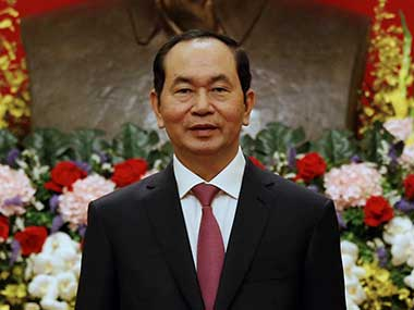Vietnamese president Tran Dai Quang says nations must protect freedom of navigation in Indo-Asia-Pacific region