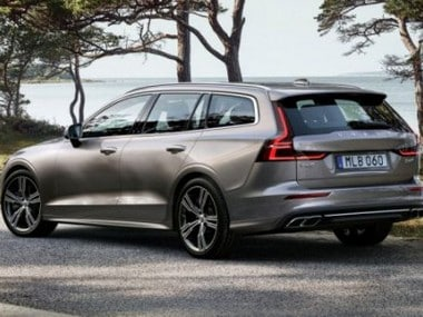 Volvo unveils a brand new version of the V60 estate