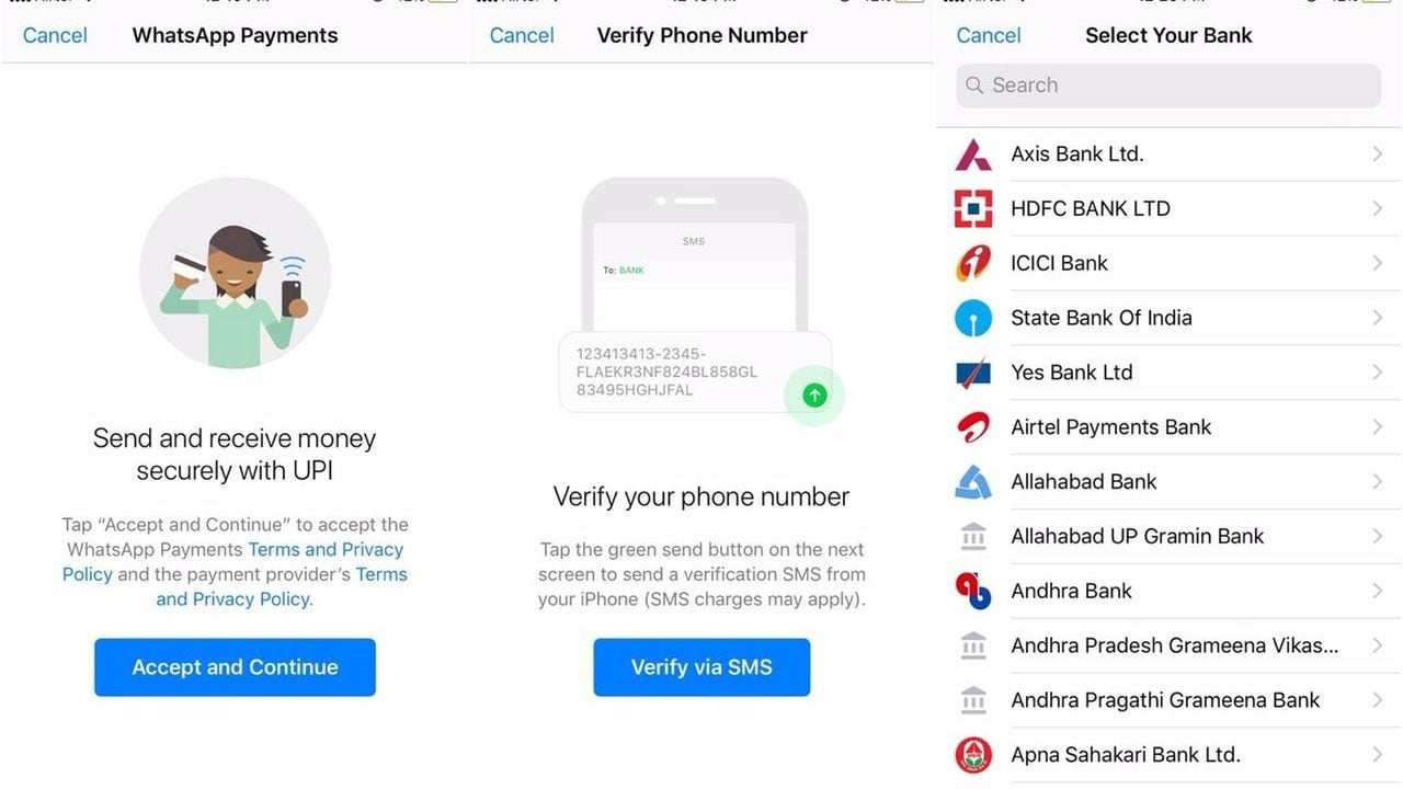 WhatsApp UPI Payment system is being tested, WABetaInfo.