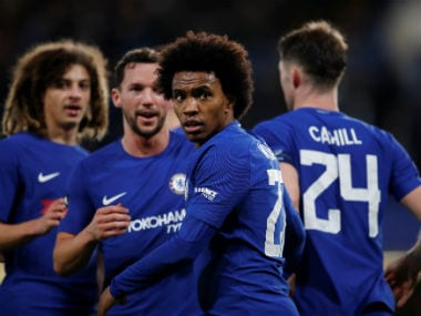 Premier League: Chelsea's Willian to put friendship with Jose Mourinho aside for Manchester United clash