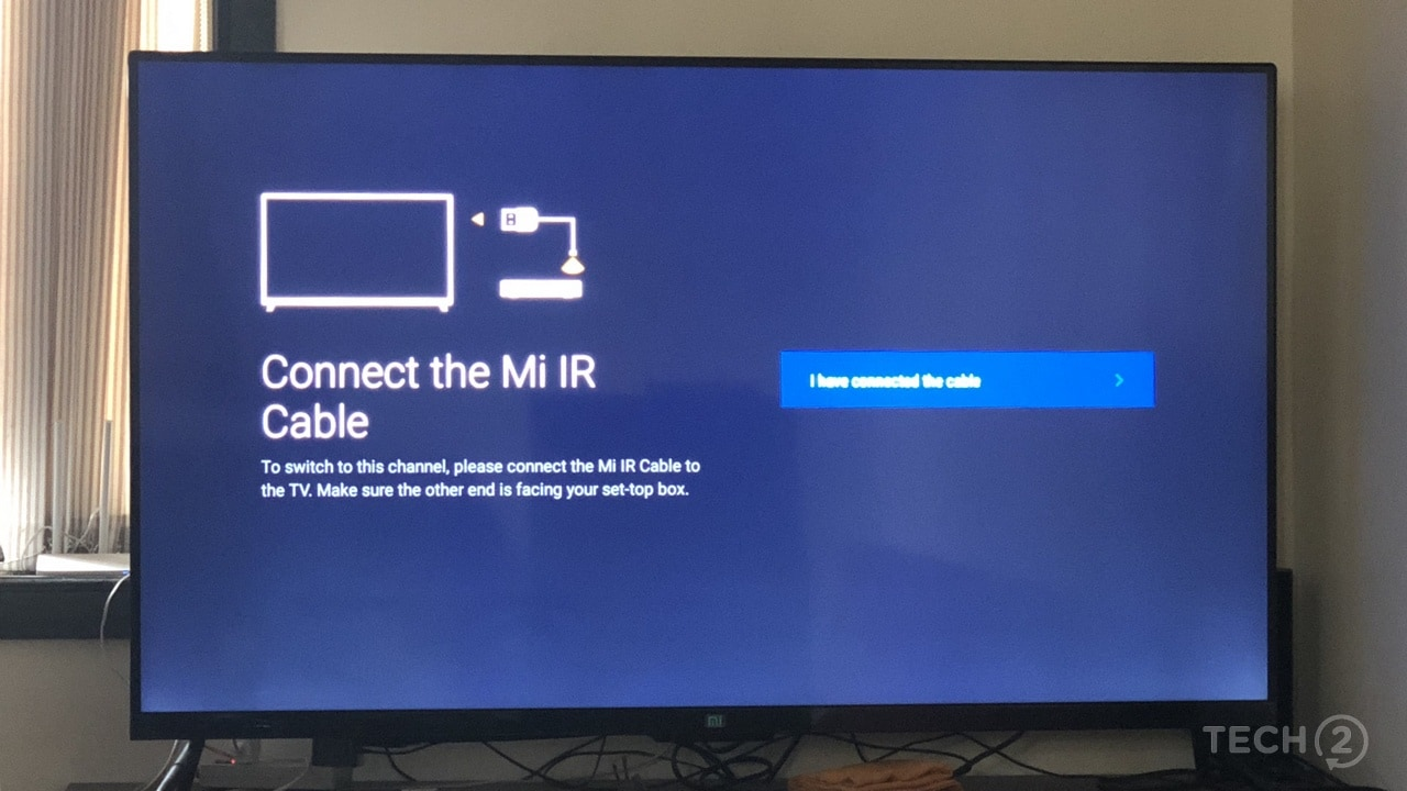 Why does Xiaomi not bundle the Mi IR cable?. Image: tech2/Nimish Sawant