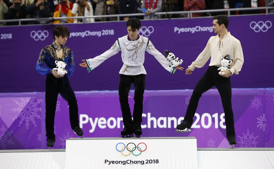Yuzuru Hanyu, Lizzy Yarnold among gold medallists on Day 8 of Winter Olympics 2018