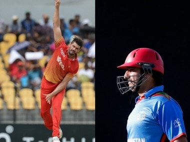 File image of Zimbabwe captain and Afghanistan skipper Asgar Stanikzai. AFP