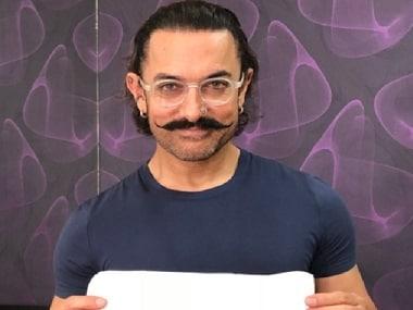 Padman Challenge: Aamir Khan, Alia Bhatt, Ayushmann Khurrana, Shabana Azmi pose with sanitary napkins