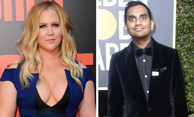 Amy Schumer Calls Aziz Ansari's Alleged Behavior 'Not Acceptable'