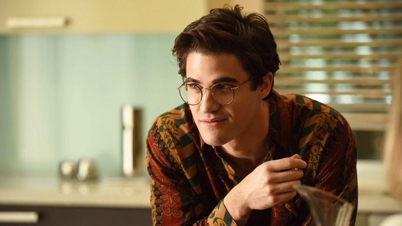 Darren Criss as Andrew Cunanan in The Assassination of Giann Versace: American Crime Story. © 2018 Fox and its related entities. All rights reserved