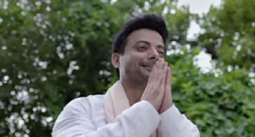 Rahul Bhat in a still from Daas Dev. YouTube