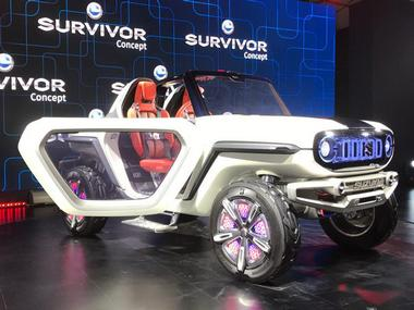Auto Expo 2018: Maruti Suzuki e-Survivor concept SUV features the company's experimental, low-emission hybrid system