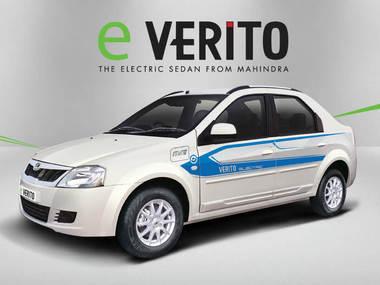 Mahindra wins order to supply 1000 e-Verito electric sedans to a Bengaluru-based fleet operator