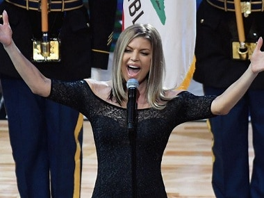 Fergie issues apology after her national anthem rendition at NBA All-Star Game sparks outrage