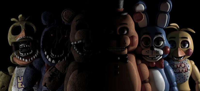 Five Nights at Freddy's. Image from Twitter/@BDisgusting