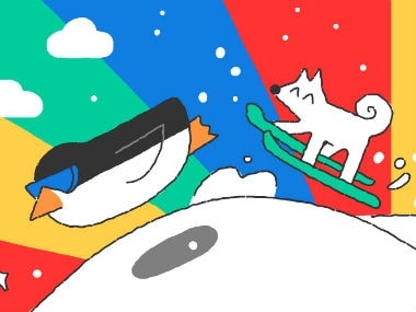 Google Doodle celebrates the start of the Pyeongchang Winter Olympics 2018 with an animated doodle simulating the Games