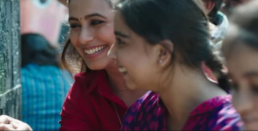 Rani Mukerji in a still from Hichki. YouTube
