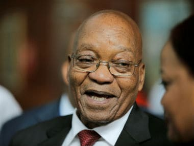 File image of South African president Jacob Zuma. Reuters