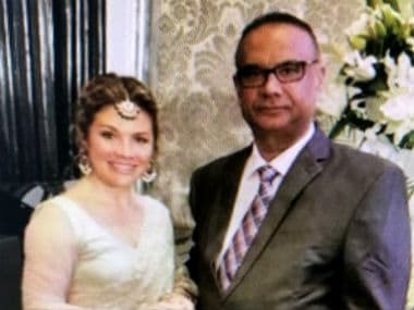 File image of Jaspal Atwal with Justin Trudeau's wife Sophie in Mumbai. News18