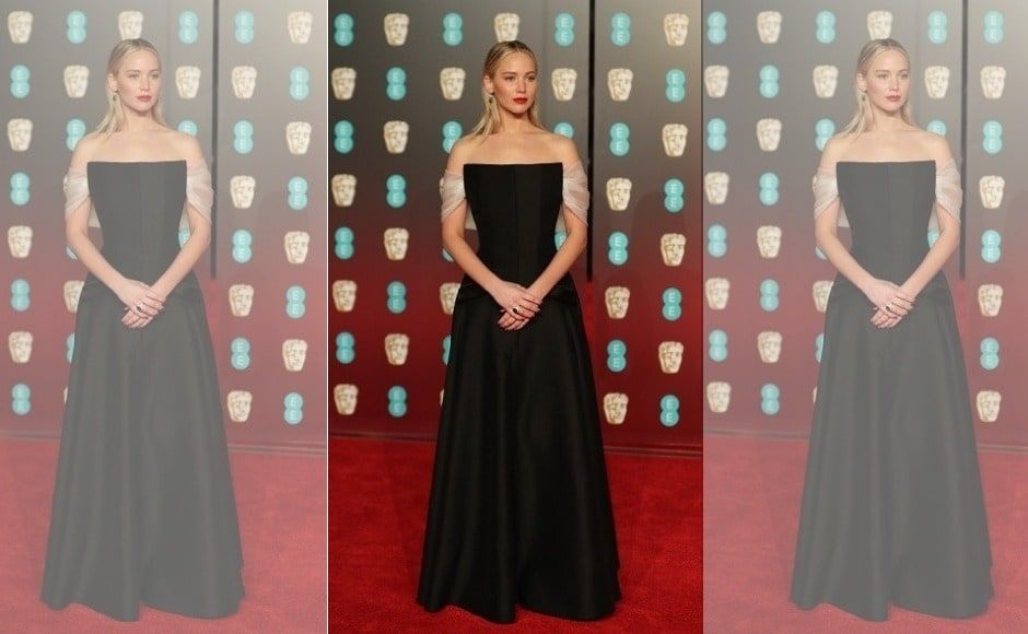 BAFTA 2018: Jennifer Lawrence, Angelina Jolie steal the show in their black floor-length gowns