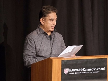 Kamal Haasan at Harvard: 'Fed up of complaining about govt inaction; demanding good governance is my right'