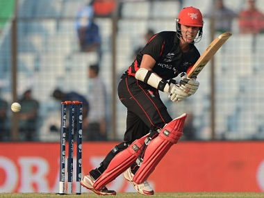 Mark Chapman, who has played two ODIs and 19 T20s for Hong Kong, is eligible to play for New Zealand through his Kiwi father. AFP