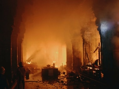 Image result for madurai meenakshi amman temple fire