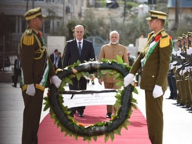 Narendra Modi's Ramallah 'outreach' policy could go a long way in establishing peace between Israel, Palestine