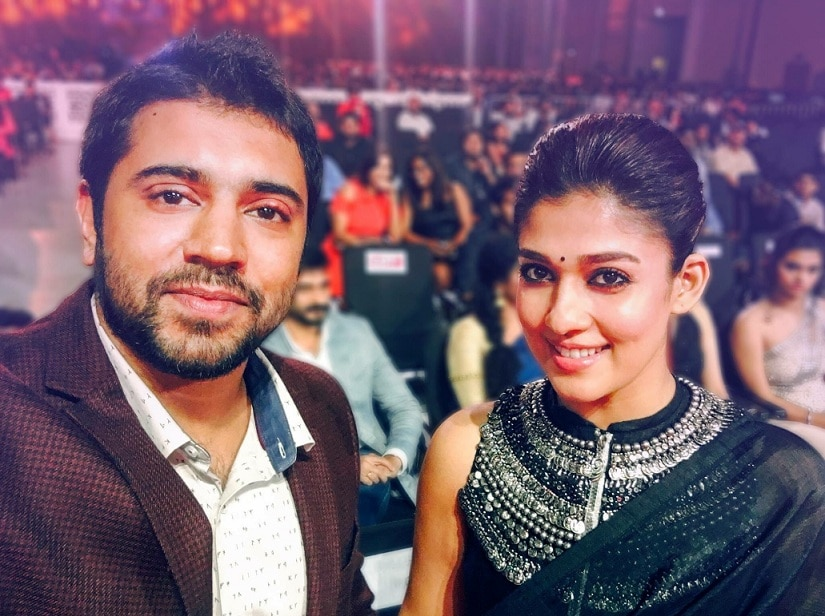 Nivin Pauly and Nayanthara. Image from Twitter/@Forumreelz