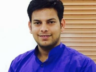 AAP MLA Prakash Jarwal. Twitter@Prakash_jarwal