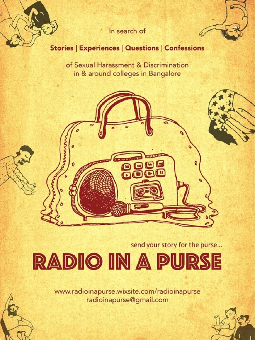 The Radio in a Purse allows women to be anonymous whilst being credible
