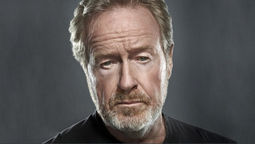 Ridley Scott. Image from Twitter/@rsafilms