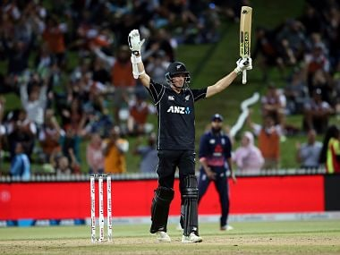 New Zealand vs England: Mitchell Santner guides Kiwis to three-wicket win in Hamilton after Ross Taylor ton