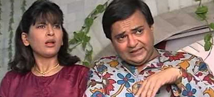 Archana Puran Singh and Rakesh Bedi in a still from Shrimaan Shrimati. YouTube