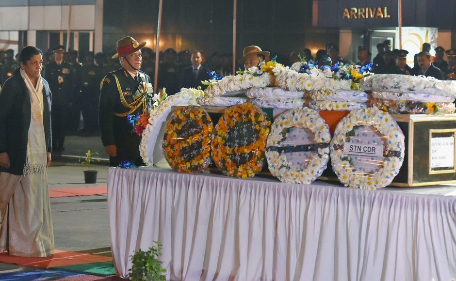 Four Indian soldiers, including a 22-year-old Indian Army officer Captain Kapil Kundu, were killed and four others injured on Sunday in Pakistani firing in Kashmir's Rajouri and Poonch districts. Kundu was given a military funeral in New Delhi, in the presence of army chief Bipin Rawat and Defence Minister Nirmala Sitharaman. PTI