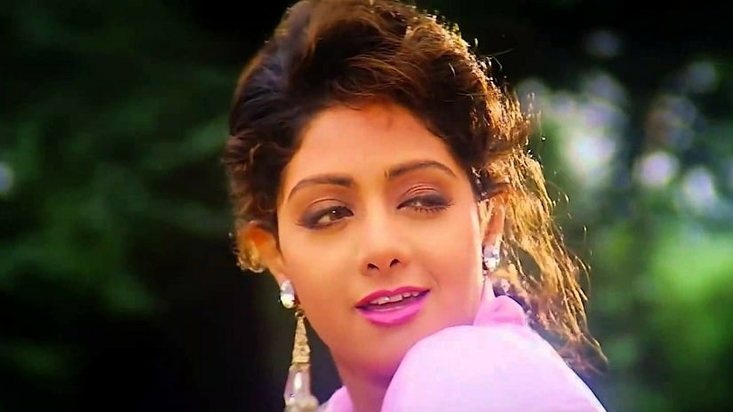 Sridevi in a still from Lamhe