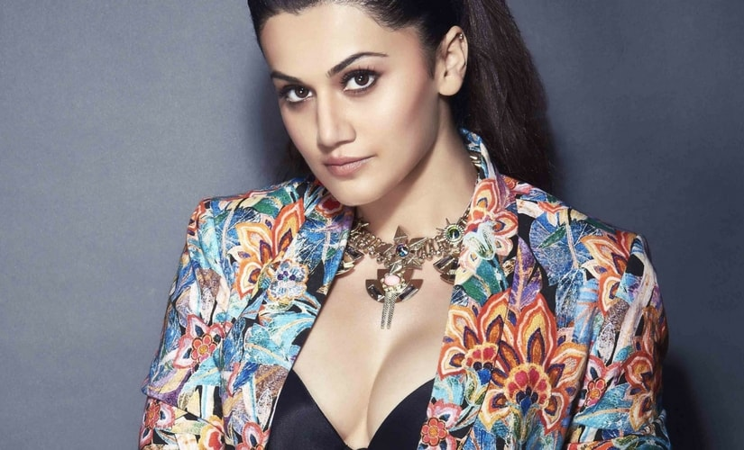 Actress Taapsee Pannu/Image from Twitter.