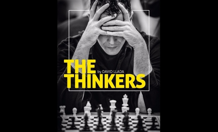 Cover of David Llada's The Thinkers