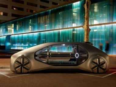 Renault EZ-GO is a shared robo-vehicle and service with level-four autonomous driving capability. AFPRelaxnews