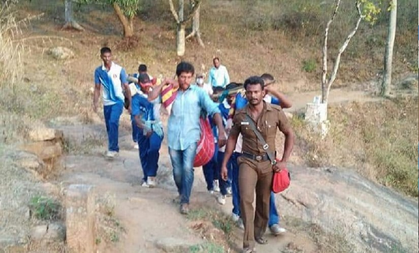 Rescue operations were carried out after the Theni fire. Firstpost/Naveen Nair