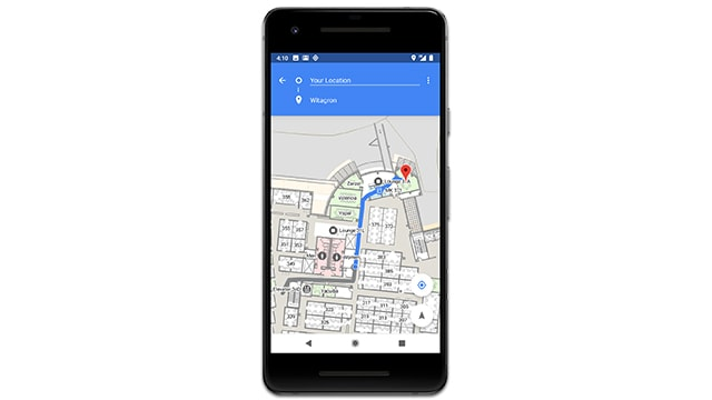 Indoor navigation support might be arriving with Android P
