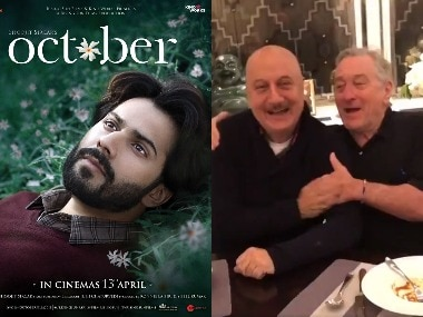 New stills from Varun Dhawan's October; Robert De Niro throws Anupam Kher a birthday bash: Social Media Stalkers' Guide