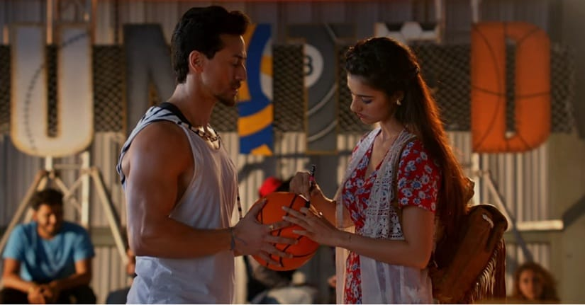 Still from the Baaghi 2 song 'O Saathi'. YouTube screengrab