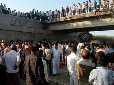 At least 26 dead, dozens injured in Gujarat's Bhavnagar as truck carrying wedding party members falls into drain